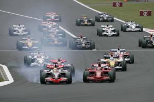 Start, Japanese F1, Fuji, 10th-12th, October, 2008