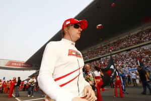 Kimi Raikkonen (FIN) Ferrari F2008, Chinese F1 Grand Prix, Shanghai, 17th-19th October 2008