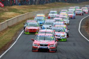 Jamie Whincup, (aust) Team Vodafone 888 Ford Falken Tasmania Challenge Rd 13 V8 Supercars Symmo
