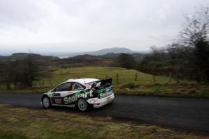 Aava leads the Rally Ireland