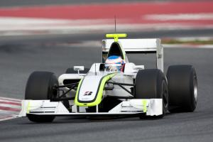 Jenson Button (GBR) Brawn GP, Barcelona Test 9-12th, March 2009
