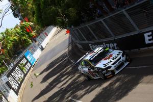 James Courtney (Aust) Jim Beam DJR Ford Races 25 and 26 Sydney Telstra 500 V8 Supercars Homebu