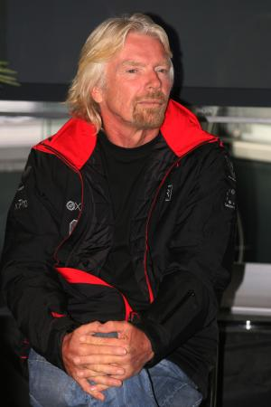 27.02.2010 Barcelona, Spain, Sir Richard Branson, Chairman of the Virgin Group - Formula 1 Testing,