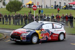 Sebastian Loeb (F) Daniel Elena (MC) Citroen C4 WRC