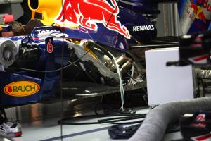 Friday Practice 1, Engine Renault of Red Bull