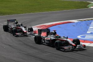 Hispania fined after pit incident