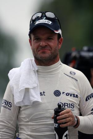 09.04.2011- Qualifying, Rubens Barrichello (BRA), Williams FW33