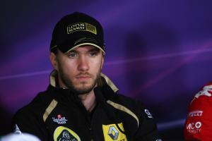 21.07.2011- Press conference, Nick Heidfeld (GER) Lotus Renault GP R31