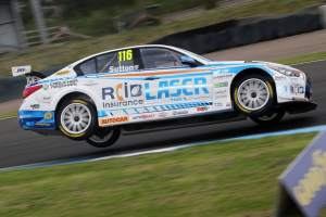 Sutton doubles up with race two victory