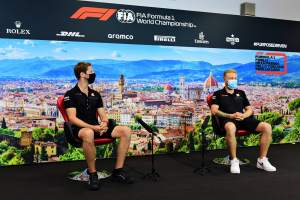 Haas drivers Romain Grosjean and Kevin Magnussen in 'no rush' to resolve F1 futures