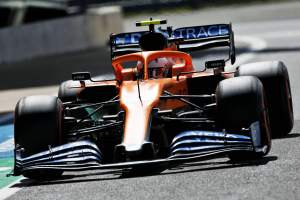 """Norris pleased with P5 after """"scrappy"""" British GP F1 qualifying"""