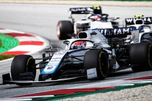 Early error unravels Russell, Williams F1's potential in Austria