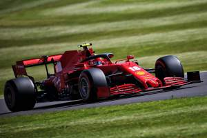 Leclerc concerned by Ferrari F1 race pace at British GP