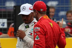 Hamilton defends Vettel by calling for respect