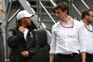 Hamilton's Mercedes future to be influenced by Wolff decision