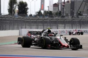 Magnussen: P8 maximum for Haas in Russia, Leclerc 'way too fast'