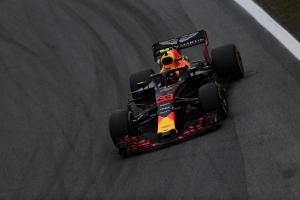 VIDEO: Verstappen pushes Ocon after Brazil F1 clash
