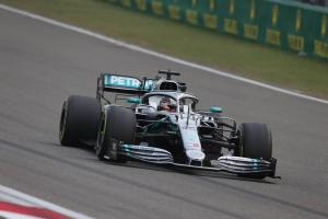 Hamilton 'proud' with P2 on grid after China struggles