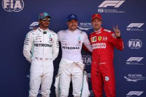 F1 Spanish Grand Prix - Starting Grid
