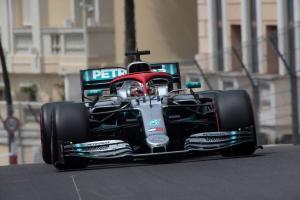 Hamilton takes Monaco GP pole as Ferrari flounders