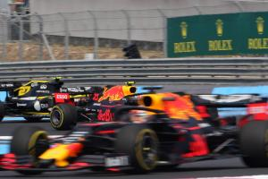 Ricciardo surprised by gap between Gasly and Verstappen