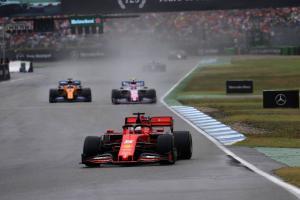 Vettel: Wet races create chaos, dry races F1's focus to improve
