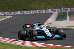 """P16 in Q1 felt like a """"pole lap"""" for Williams - Russell"""