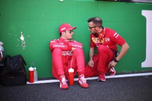 Leclerc shoulders blame for Verstappen clash