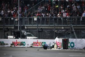 Bottas released from medical centre after hefty Mexico crash