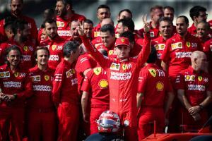 Leclerc signs Ferrari contract extension until 2024