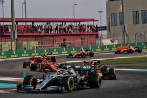F1 Abu Dhabi Grand Prix - Race Results
