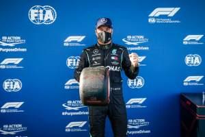 "Valtteri Bottas: Eifel GP F1 pole lap was ""spot-on"""