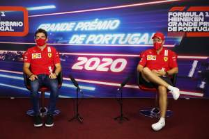 """Vettel: Leclerc in """"another league"""" in Portuguese GP F1 qualifying"""