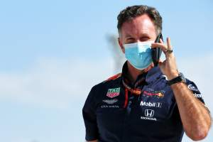Horner: Perez's Sakhir GP win won't speed up Red Bull decision for F1 2021