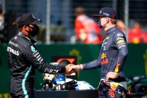Hamilton avoids penalty despite track limit breach, keeps front row
