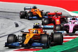 F1 Austrian Grand Prix 2020 - Race Results
