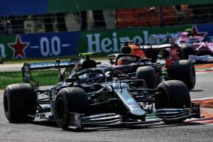 Bottas reveals he was close to second jump-start of F1 2020 in Italy