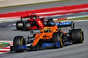 Barcelona F1 Test 2 Day 2 - Thursday 5pm Results