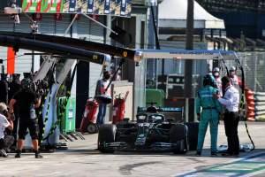 Hamilton takes responsibility for F1 pit lane blunder at Italian GP