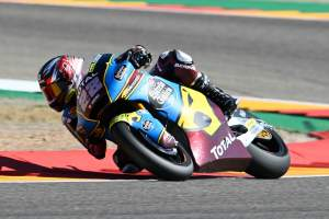 Sam Lowes, Moto2 race, Aragon MotoGP. 18 October 2020