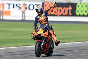 Pol Espargaro: Critical moment was just before the race