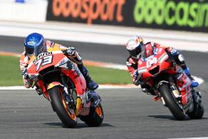 Alex Marquez: Two options, both crash or only me...