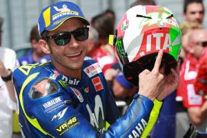 Rossi surprised by Mugello pole with gains from 'something old'