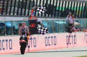Marquez: Taking podium means not being pushed into mistakes