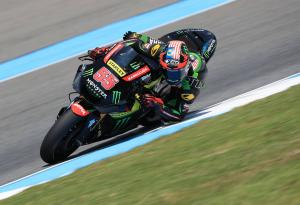 Syahrin closes gap to Morbidelli in top MotoGP rookie fight