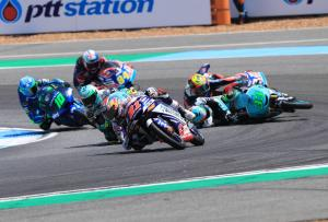 Moto3: Bezzecchi last-turn nightmare, 'crazy weekend' for Martin