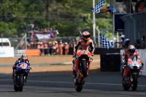 Marquez: Finally, we beat Dovi on the last lap!