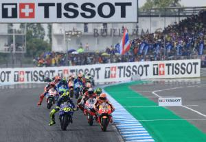 Rossi fights at the front in Thailand 'cycle race'