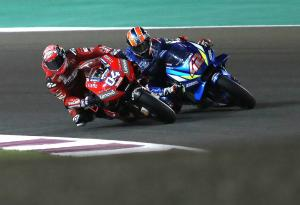 Dovi had to stop 'embarrassingly' fast Rins, 'MotoGP different now'