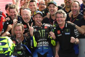 'Another era' - Rossi podium 23-years after debut!